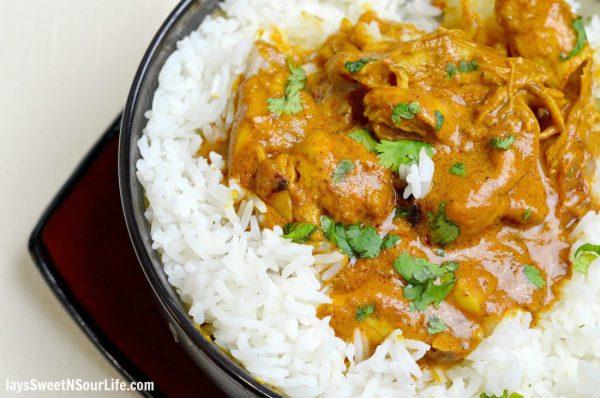 Pressure Cooker Indian Butter Chicken