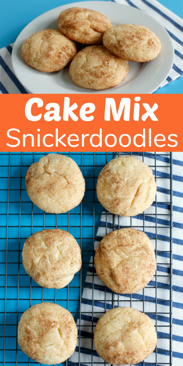 Cake Mix Snickerdoodle Cookies Recipe