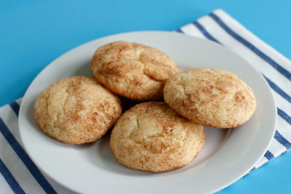 Cake Mix Snickerdoodles Cookies to bake