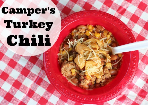 Quick And Easy Camper S Turkey Chili Make And Takes