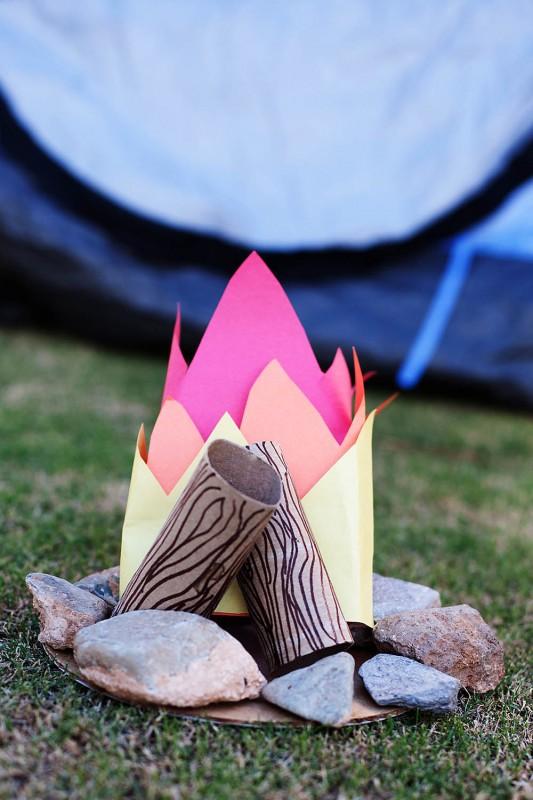 Camping Craft Campfire