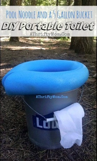 Camping-Toilet-portable-and-low-cost-all-you-need-is-a-5-gallon-bucket-and-a-pool-noodle-camping-ideas-Outdoor-living-Popular-camping-ideas-