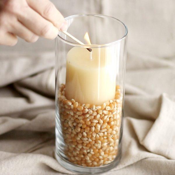 DIY Candle Vase