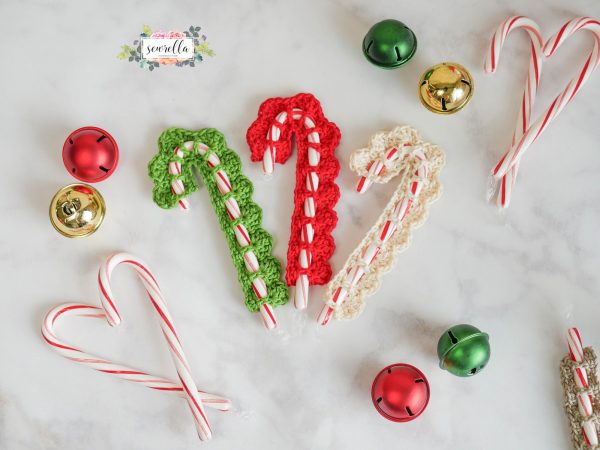 Candy Cane Crochet Covers Pattern