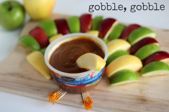 Caramel Apple Dip for Thanksgiving Dinner