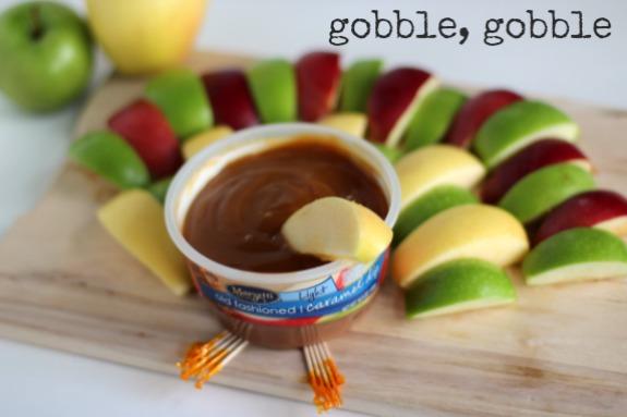 Caramel Apple Dip for Thanksgiving Dinner