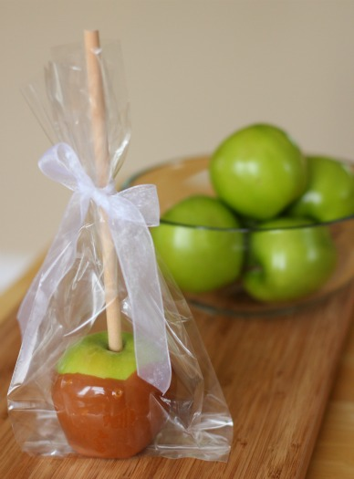 Caramel Apple Wrapped Gift