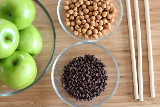 Caramel Dipped Apples Ingredients