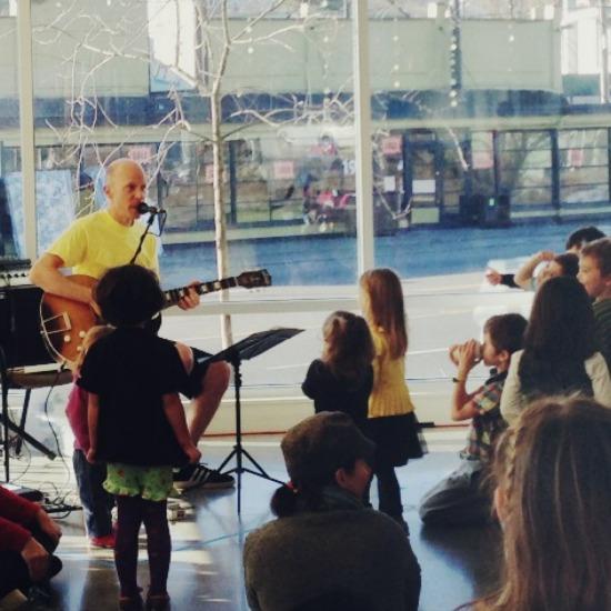Caspar Babypants concert