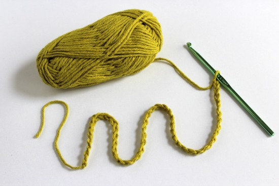 Chain Stitch a Crochet Snake