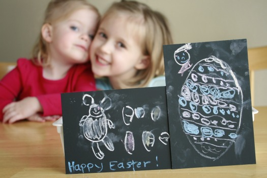 Chalk Pictures for Easter