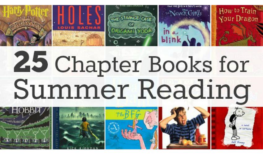 25 Chapter Books for Summer Reading