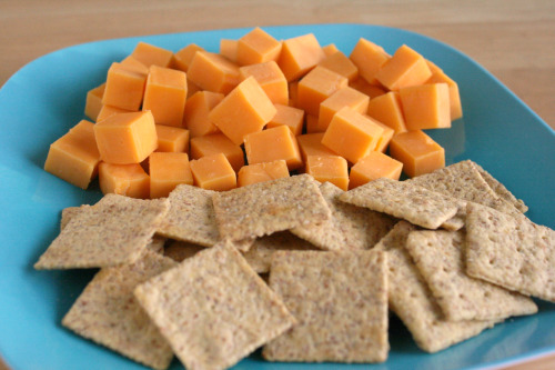Cheese and Cracker Squares