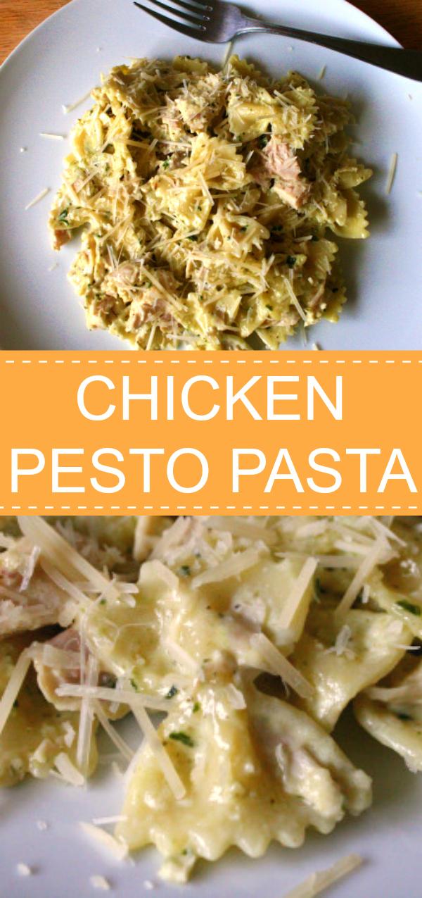 Chicken Pesto Pasta Dinner