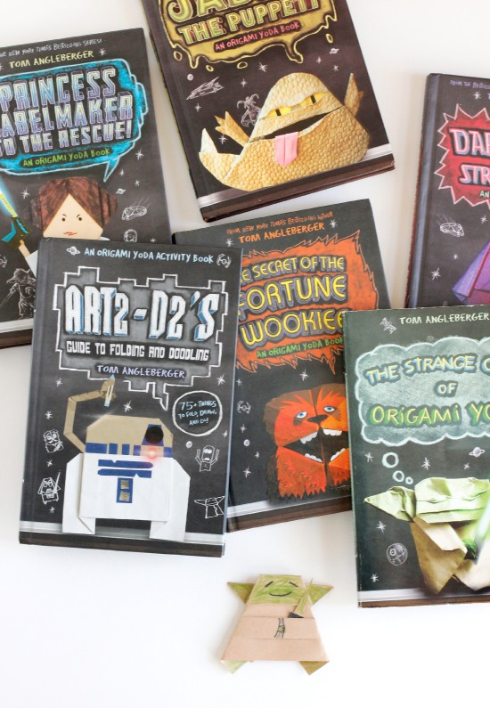 Folding your own Origami Yoda & other Star Wars papercraft ... | 795x550