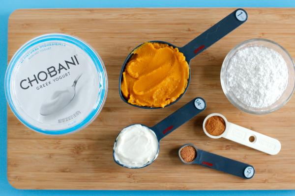 Chobani Pumpkin Yogurt Dip