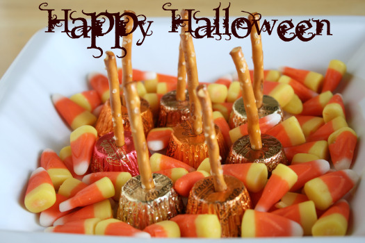 Halloween Chocolate Candy Witch Brooms