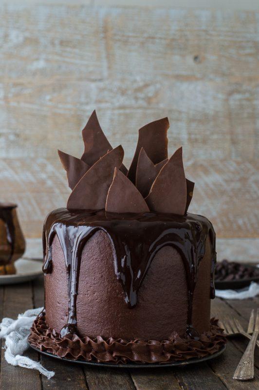 Chocolate Chocolate Cake