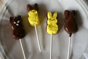 Chocolate Covered Easter Peeps