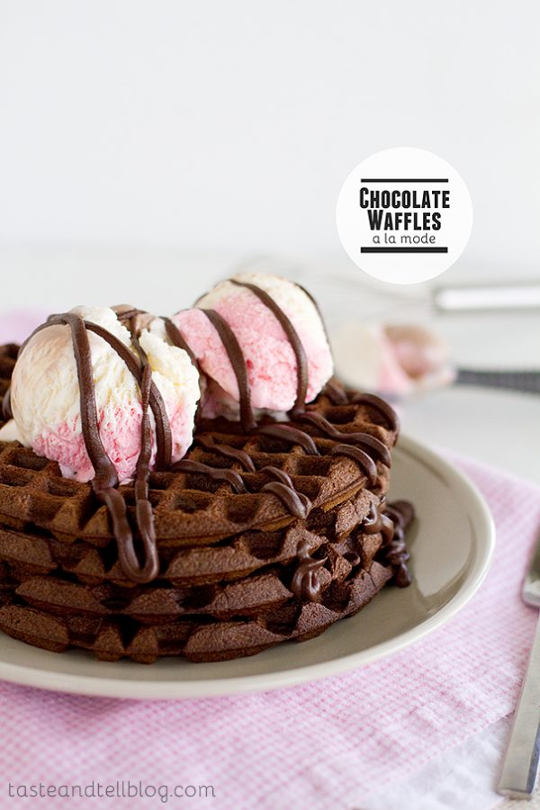 Chocolate-Waffles-a-la-Mode-recipe-Taste-and-Tell-1