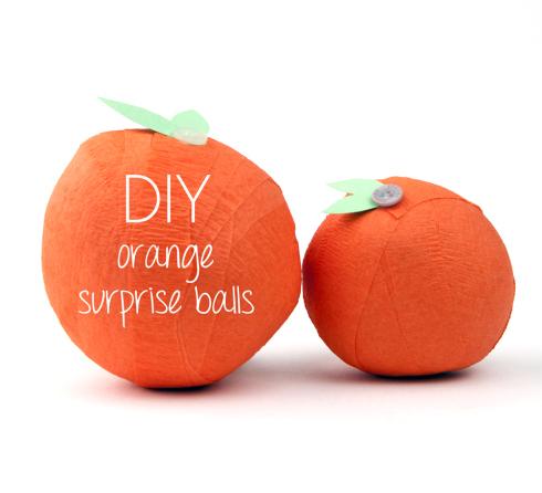 Christmas DIY Paper Oranges