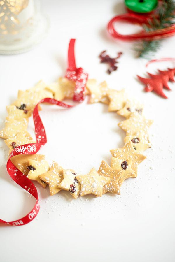 christmas-shortbread-star-wreath-recipe