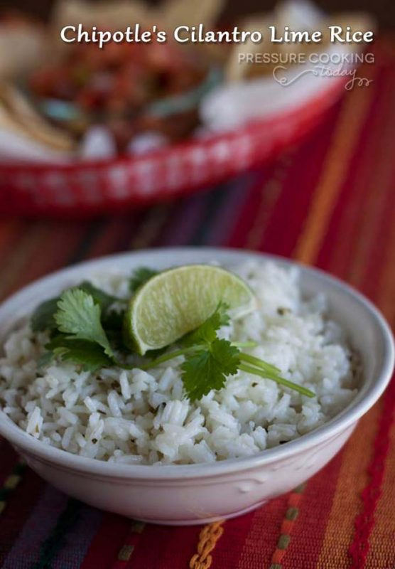 Chipotle's Cilantro Lime Rice Recipe