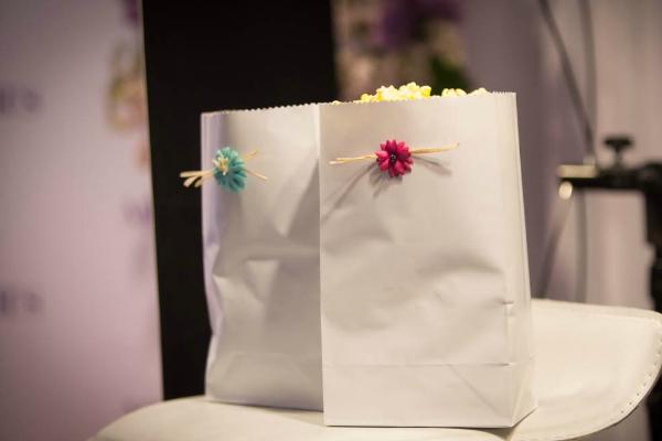 Cinerama Floral Popcorn Treat Bags
