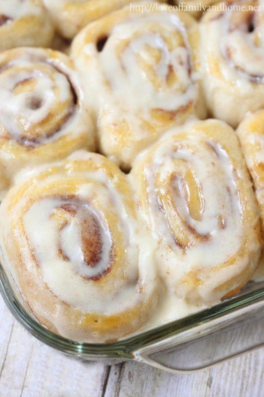 Easy, Three Ingredient Cinnamon Rolls