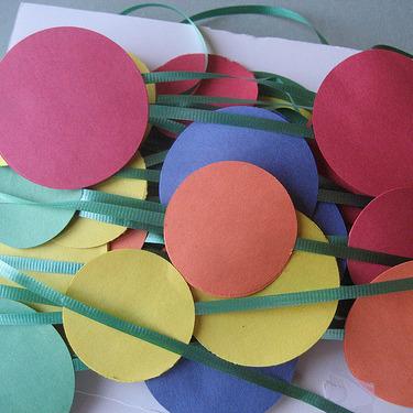 Circle Birthday Party Idea