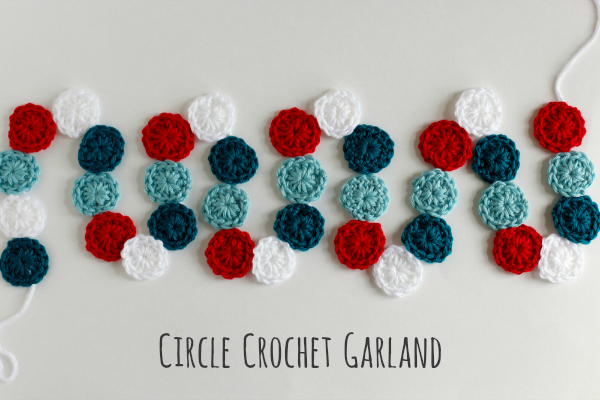 Circle Crochet Garland Pattern