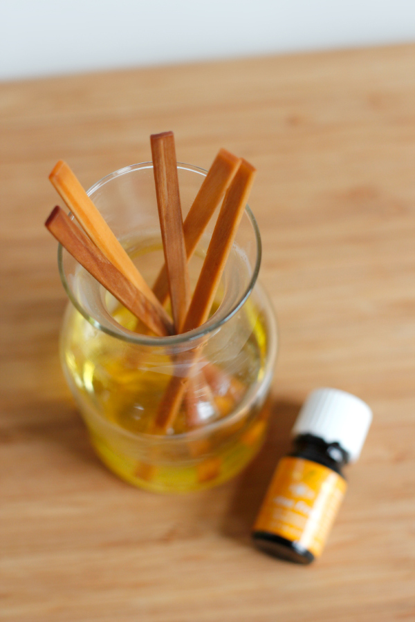 Citrus Fresh DIY Reed Diffuser