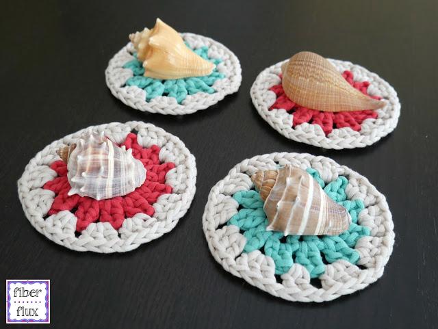Coastal Crochet Coasters