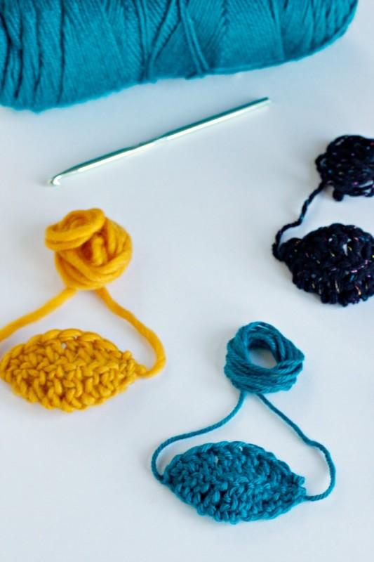 Color Crochet Pirate Patch Pattern