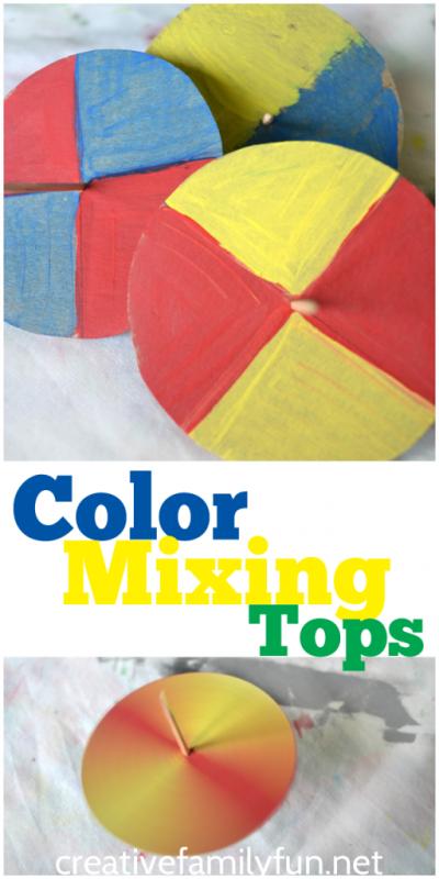 Color Mixing Tops
