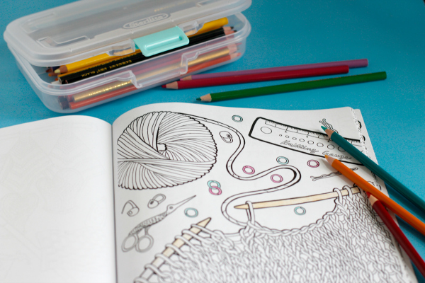 Adult Coloring Books and Supplies