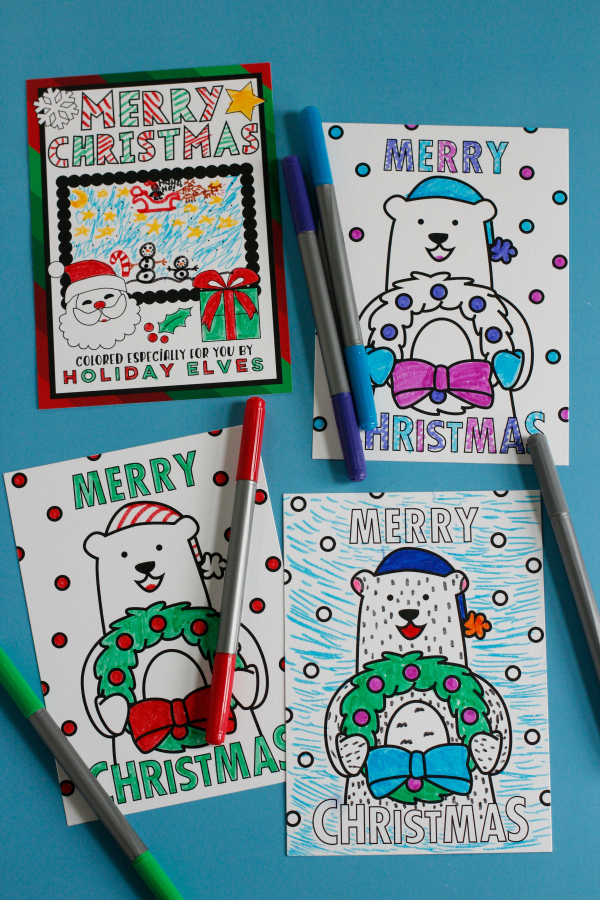 coloring-holiday-cards-with-marker