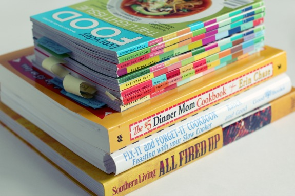 Cookbooks for Weekly Meal Planning