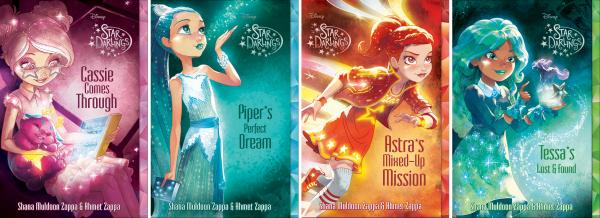 Covers6-9 Star Darlings Book Series