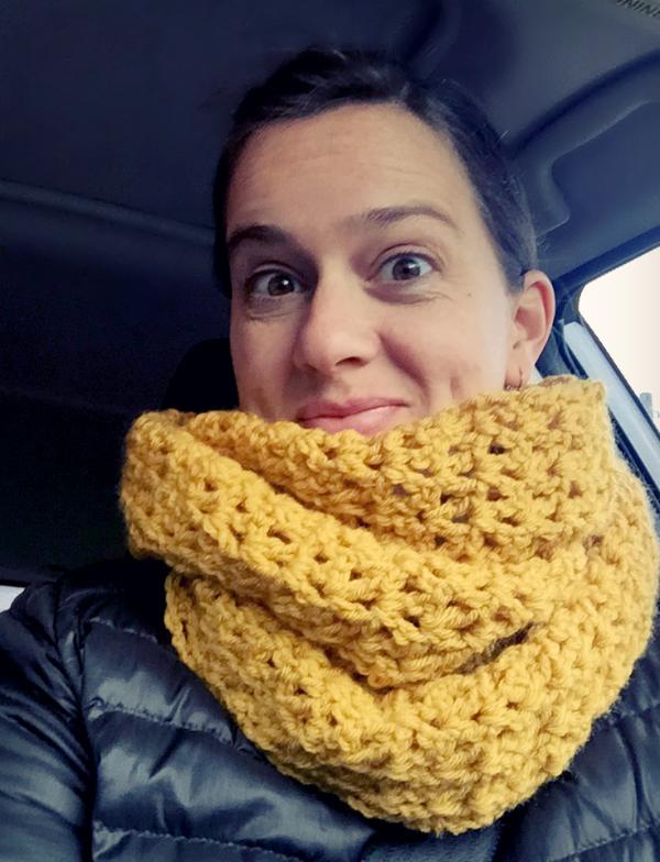 Cozy Crochet Infinity Scarf Pattern