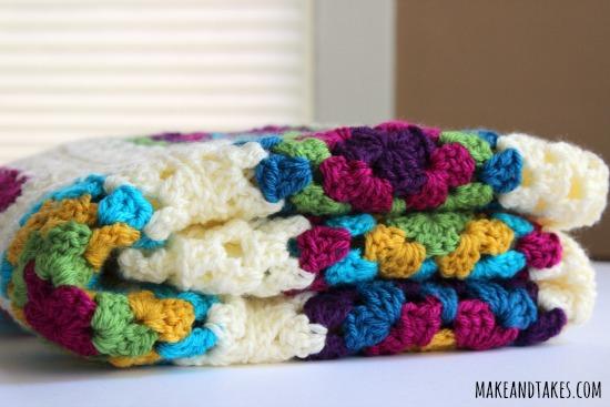 Cozy Granny Square Blanket