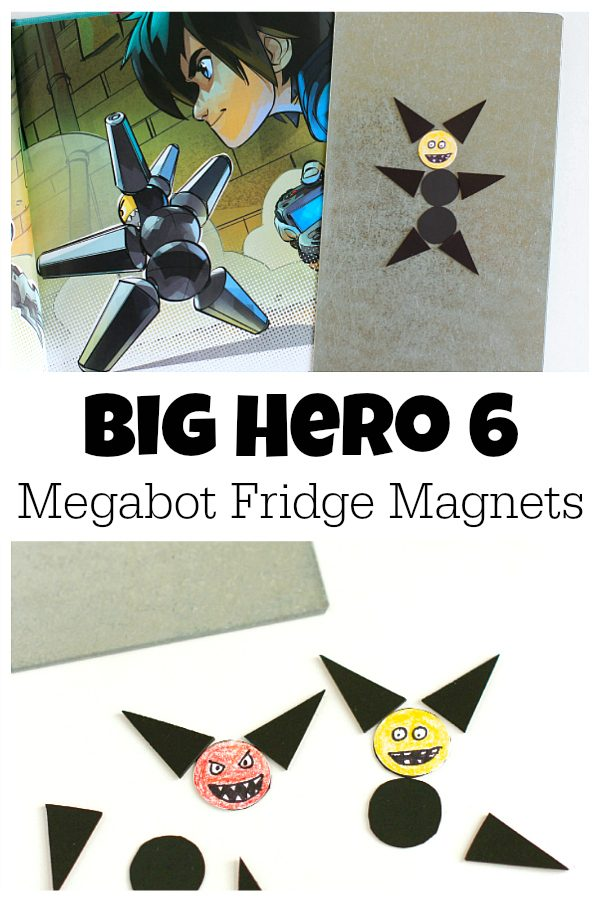 Craft Big Hero 6 Megabot Fridge Magnets