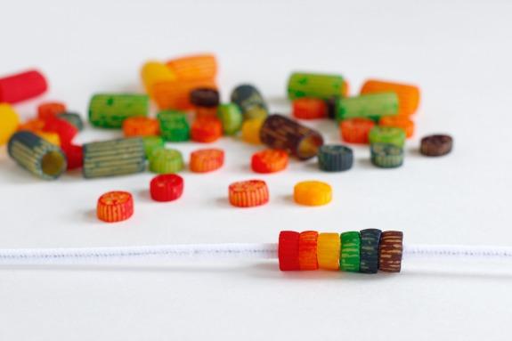 Crafting Rainbow Colored Pasta Bracelets.jpg