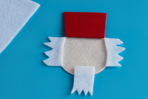 Crafting a Nutcracker Felt Ornament