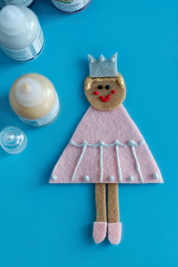 Crafting a Sugar Plum Fairy Ornament