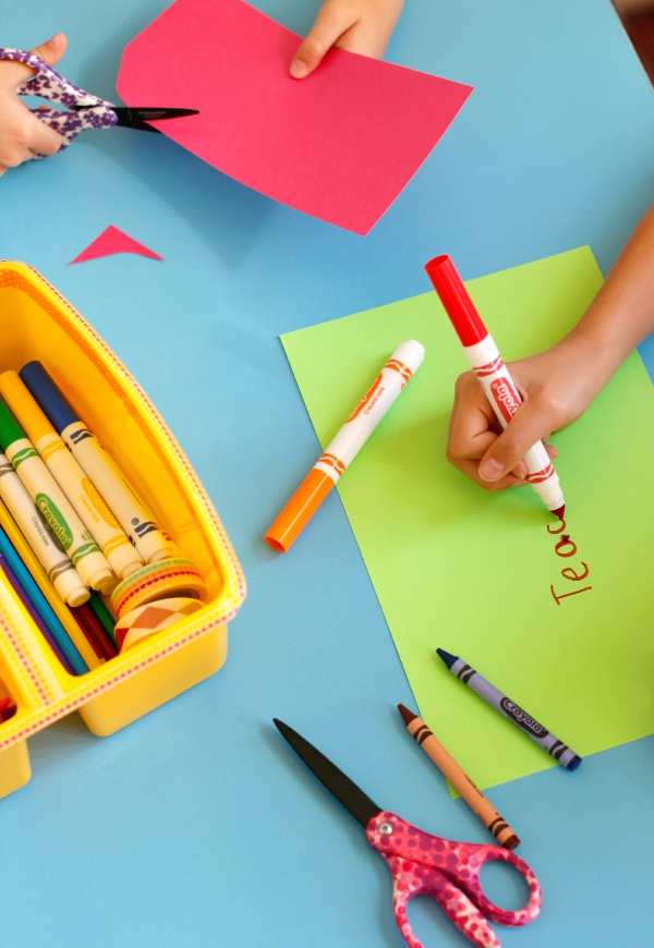 Crafting with a Creative Craft Caddy