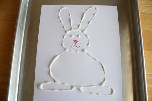 Crafty Glue Easter Bunny