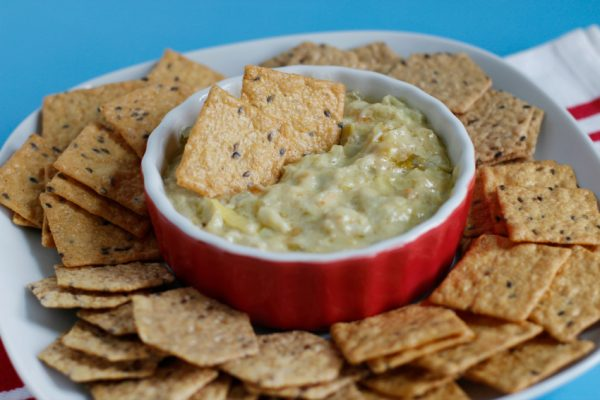 Crab Artichoke Dip for Your Memorial Day Party