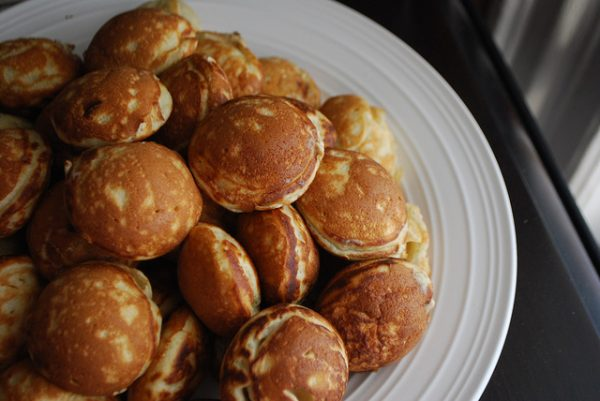 Cream Cheese aebleskiver pancakes