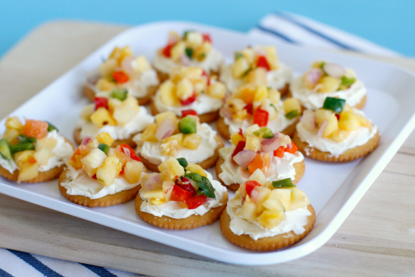 Cream Cheese & Mango Salsa RITZwich